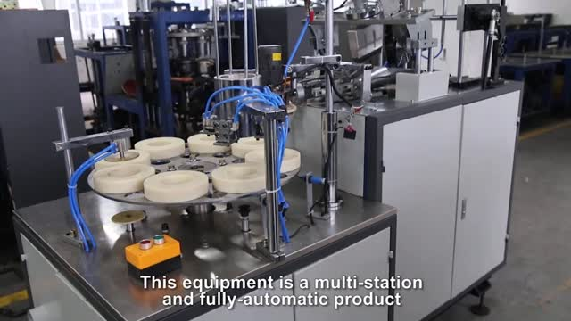Máquina para fabricar tazones de papel de doble pared MG-RC